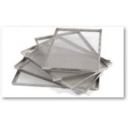 Kit 6 cestelli in acciaio inox